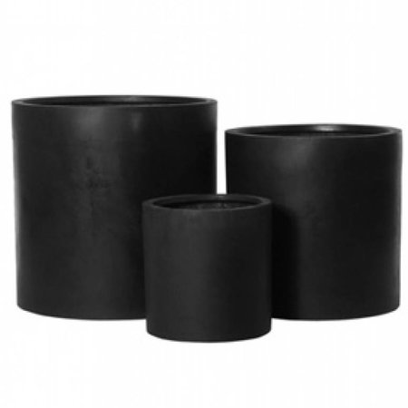 Fiberstone Max - Cilindervormige Bloembak met een stijlvolle en natuurlijke uitstraling