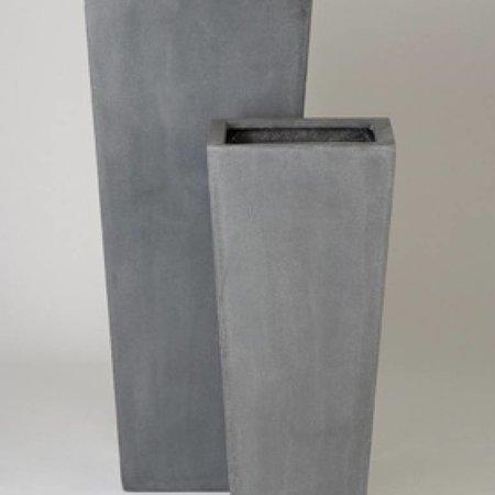 Fiberstone Beau - Stijlvolle Bloembak met een natuurlijke uitstraling, in grijs en zwart