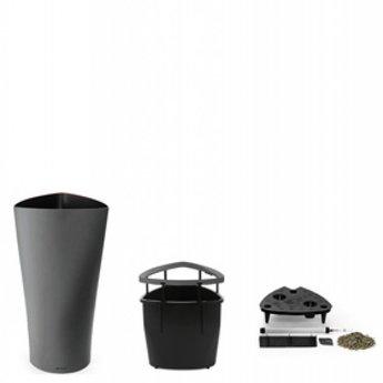 lechuza delta 30 40 flowerpot look l gant en plusieurs couleurs et tailles. Black Bedroom Furniture Sets. Home Design Ideas