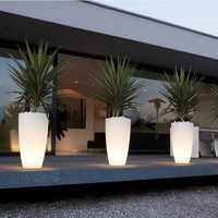Illuminated Flower Pots All Types and Sizes!