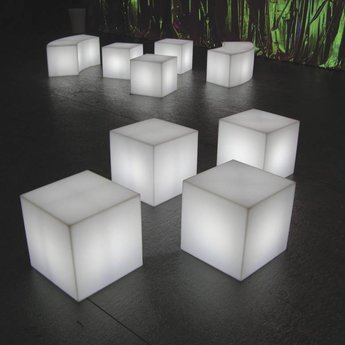 Slide Design Cubo. Illuminate your home or patio with the cubo!