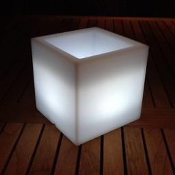 VONDOM Nano Led Cubo Bloempot