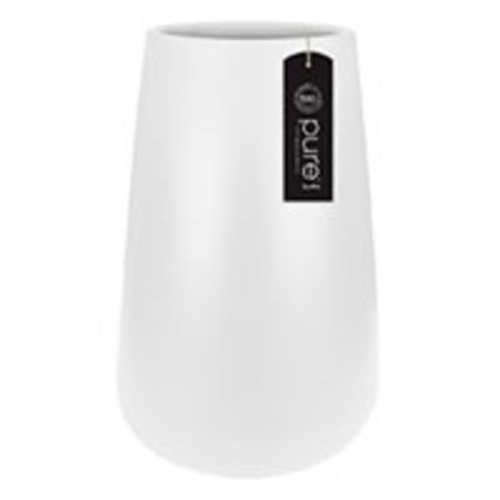 Elho Pure Cone High - White Pot de fleurs élégant diam 43cm H67cm. -15% de réduction commande en ligne!