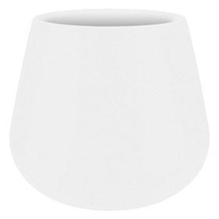 Elho Elho Pot de fleurs élégant Cone blanc Diam 43cm H36cm. -15% de réduction commande en ligne