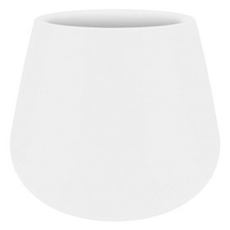 Elho Pot à fleurs élégant blanc Elho Pure Cone Diam 43cm H36cm. -15% de réduction sur commande en ligne
