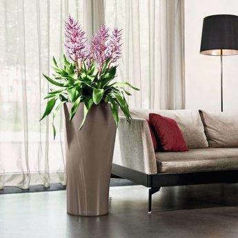 lechuza delta 30 40 bloempot stijlvolle look in meerdere kleuren en maten. Black Bedroom Furniture Sets. Home Design Ideas