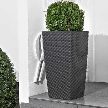 Lechuza Cubico Cottage Flowerpot - modèle élégant compris Lechuza Irrigation