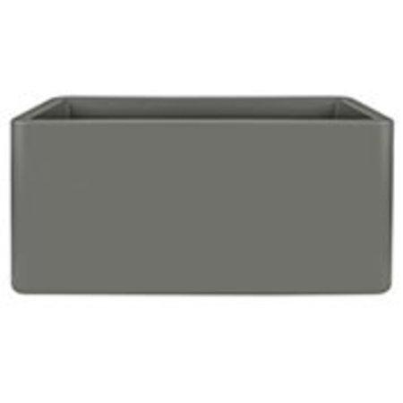 Elho Elho Pure Soft Brick Long wheels witte plantenbak 80 x 40cm H40cm. -15% korting online bestellen!