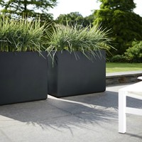 Elho Pure Rectangle Plant and Flower Pots can be found at Designpotshop.be.