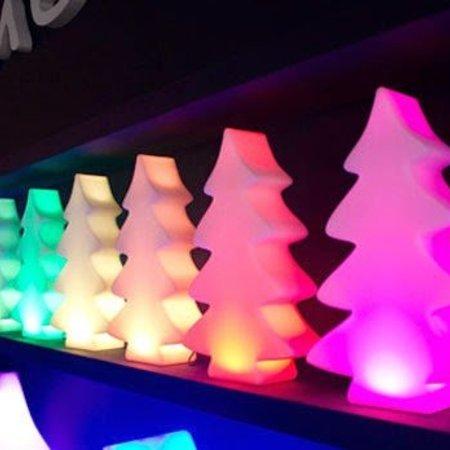 Fleurs Ami Sapin de Noël Lumenio Micro LED - Sapin de Noël unique 26 x 9cm H40cm avec éclairage Led