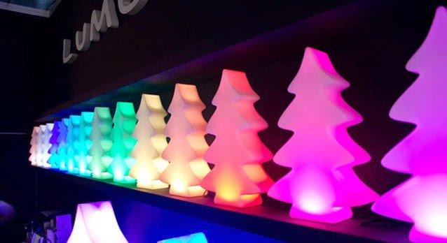 Lumenio Kerstboom LED - Unieke kerstboom 26 x 9cm H40cm met Led ...