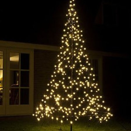fairybell fairybell kerstboom h300cm 360 led lampjes imposante kerstboom in uw tuin of pand