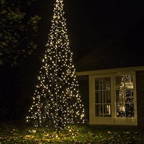 Fairybell arbre de Noël H420cm / 640 lumières LED