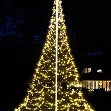 Fairybell Kerstboom H600cm / 960 LED Lampjes - Imposante Kerstboom In uw tuin of pand.