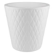 Pure Straight Crystal blanc 47cm H48cm Pot de fleurs autour