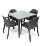 Lechuza Lechuza Meubles de jardin (table carrée) de confort optimal avec Lechuza!