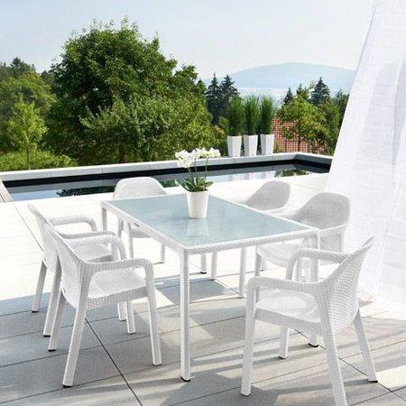 Lechuza Lechuza Meubles de jardin (table de rectangle) de confort optimal avec Lechuza!
