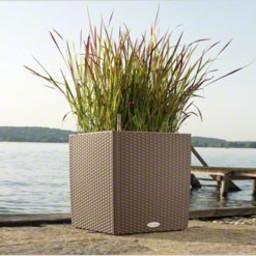 Lechuza Cube Cottage Flowerpot
