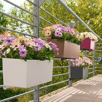 Lechuza Balconera Color Flowerpot - Includes Lechuza Irrigation