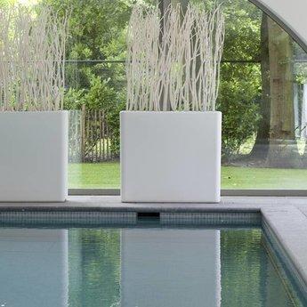 Otium Design Murus 90 . Bloempot in verschillende kleuren voor binnen en buiten.