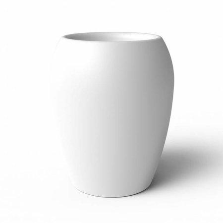 Elho Elho Pure Amphora- Witte bloempot 47cm H61cm -15% korting online bestellen!