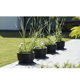 Elho Pur Grade Bowl pot de fleurs noir 47cm H27cm -15% de réduction commandez en ligne!