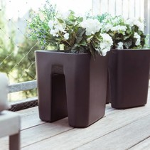 Pendulum square. Pot à fleurs