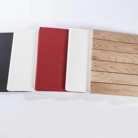 Otium Design Cubus coussin en différentes couleurs pour l'intérieur et à l'extérieur.