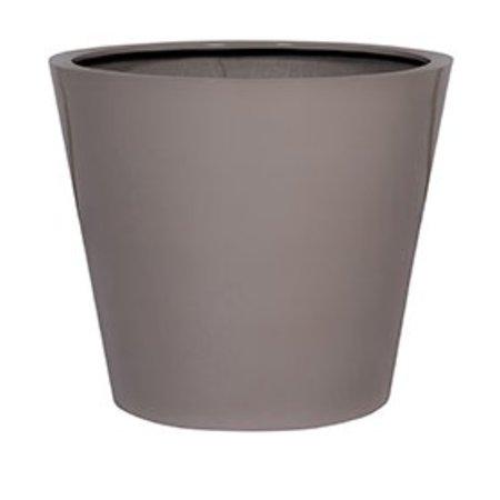 Fiberstone Glossy Bucket - Belle seau brillant planteur en plusieurs tailles!