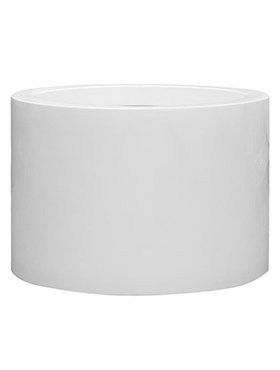 Fiberstone Jumbo brillant Max middle haut - pot de haute qualité en blanc brillant!