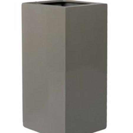 Fiberstone Glossy Bouvy - Prachtige Bloembak in hoogglans wit, zwart, grijs of rood!