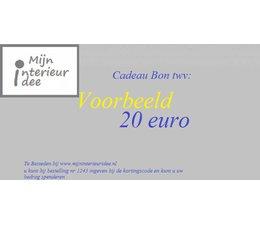 cadeau bon 5 euro
