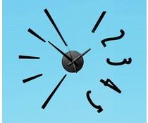 Periglass plak clock number 5