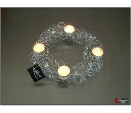 Periglass Wire ring T-light 25 cm