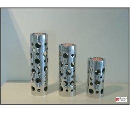 Bob bijzondere binnenhuisaccessoires Aluminium theelicht Magpai set