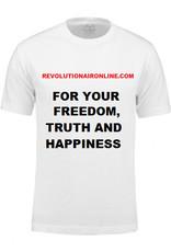 T-shirt with self-chosen printing