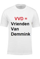 T-shirt met zelf gekozen bedrukking