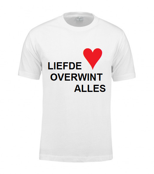 T-shirt med personlig udskrivning