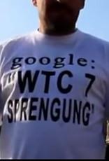 T-shirt voorzien van een boodschap