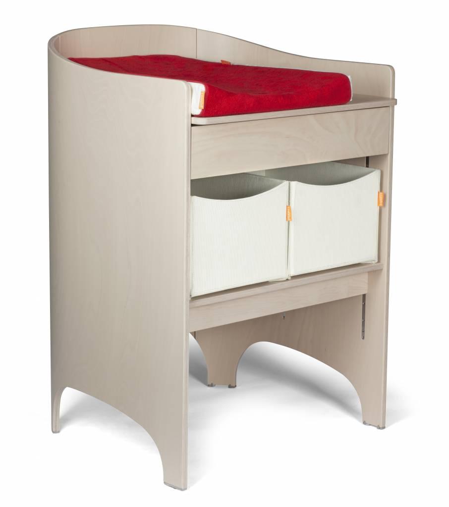 leander wickeltisch einschl wickelunterlage white wash. Black Bedroom Furniture Sets. Home Design Ideas
