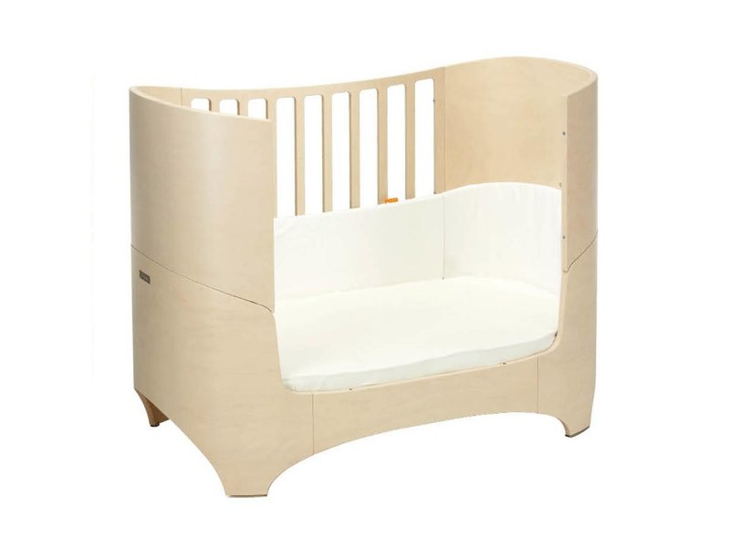 leander babybett whitewash mit juniorkit. Black Bedroom Furniture Sets. Home Design Ideas