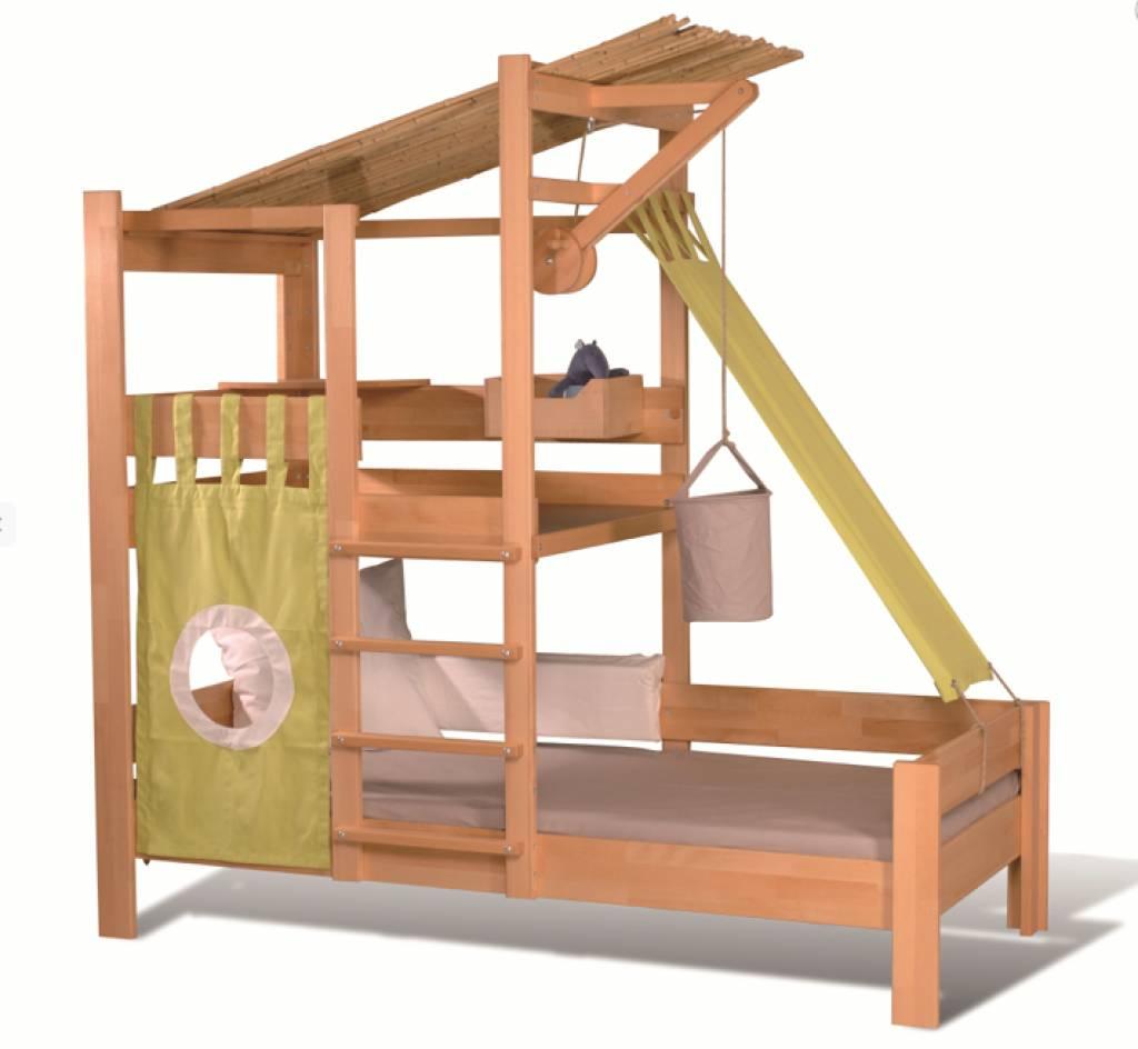 Kinderbett baumhaus selber bauen  Hochbett Kinder Selber Bauen: Jugendzimmer madchen hochbett u2013 ...
