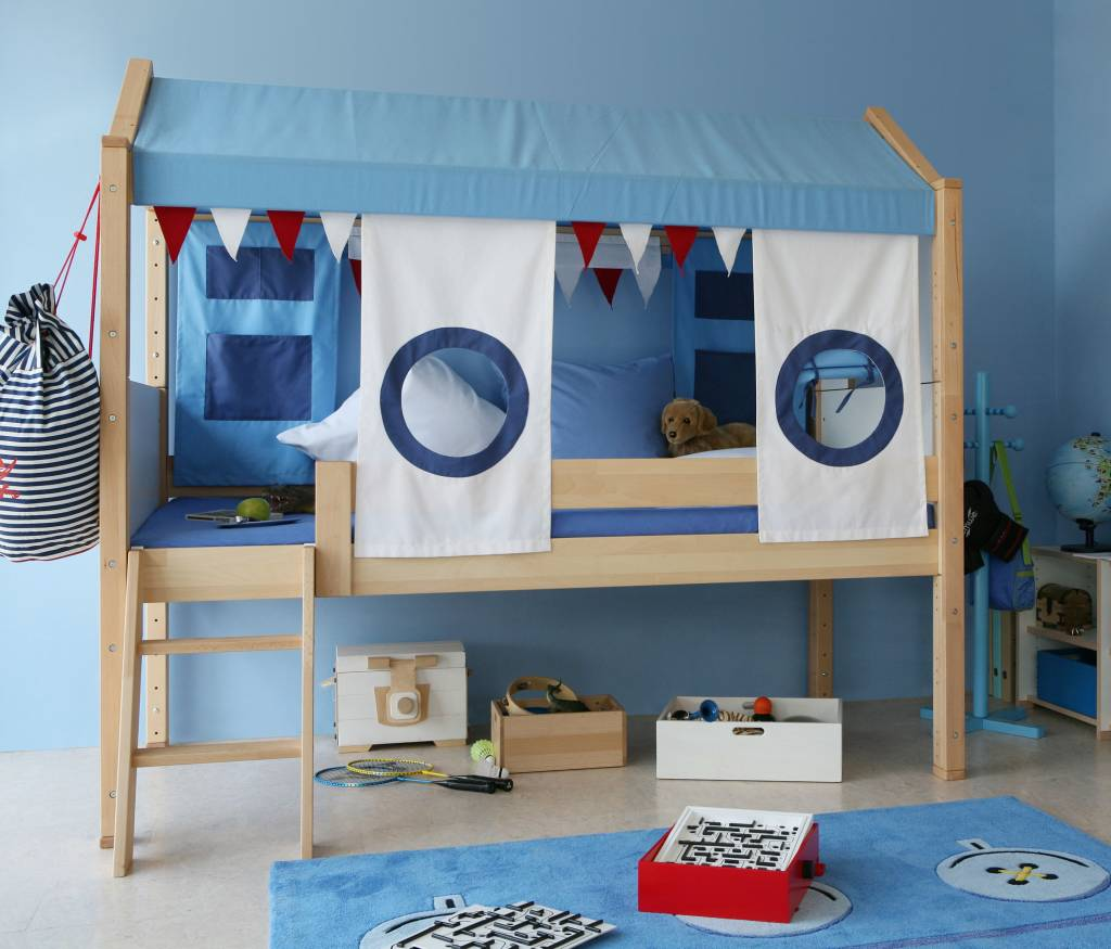de breuyn spielbett fluss pirat delite. Black Bedroom Furniture Sets. Home Design Ideas