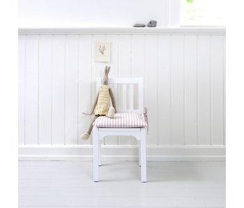 Oliver Furniture Kinderstuhl mit Sprossen, weiß