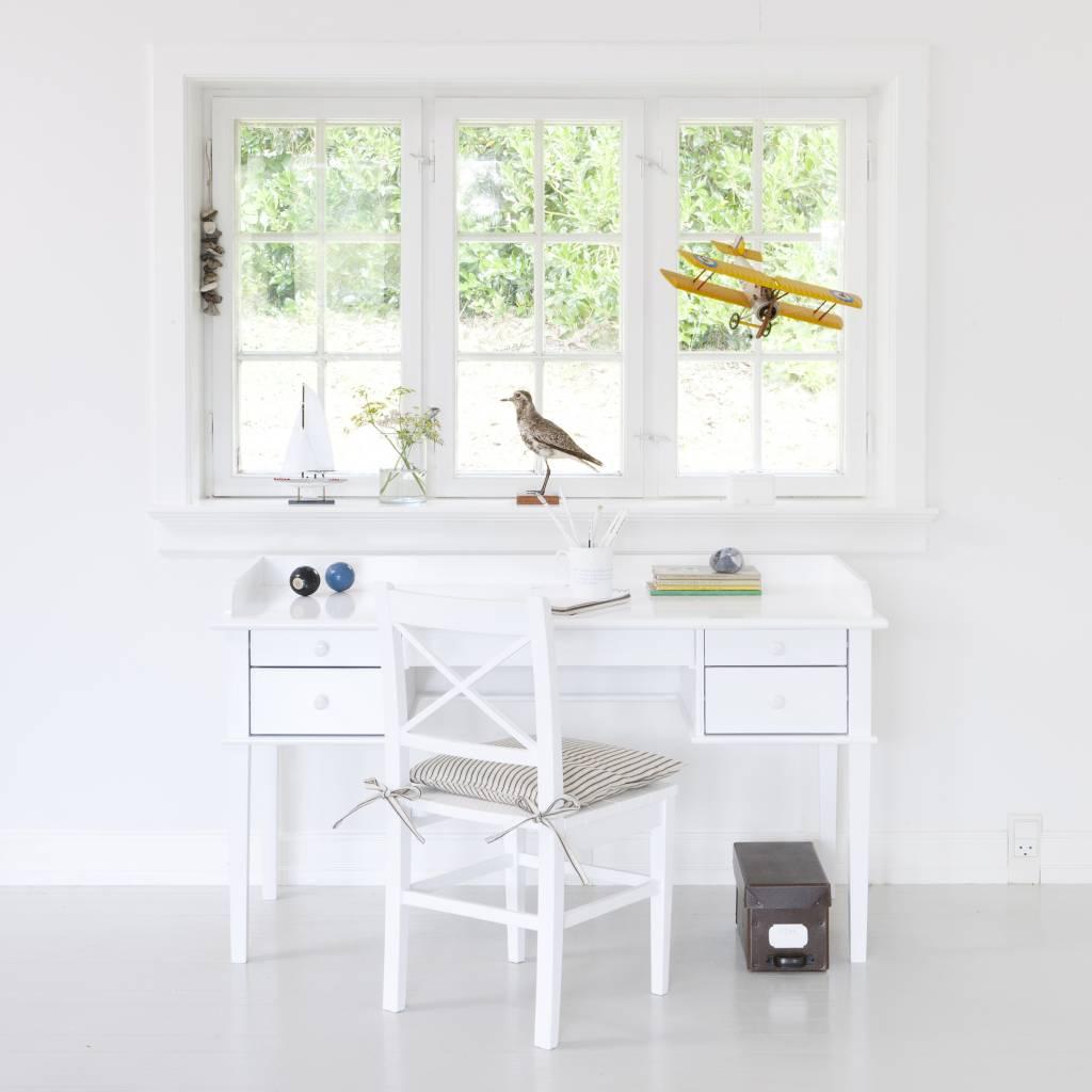 Kinderschreibtisch weiß  Oliver Furniture Junior Schreibtisch, weiß - www.romy-kindermoebel.de