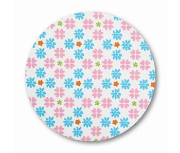 LIFETIME Stoff Multi Flower Design