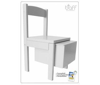 baff Musikmöbel Kindertrommelstuhl, 30 cm Sitzhöhe