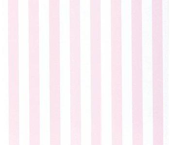 Annette Frank Tapete Venyl Blockstreifen rosa