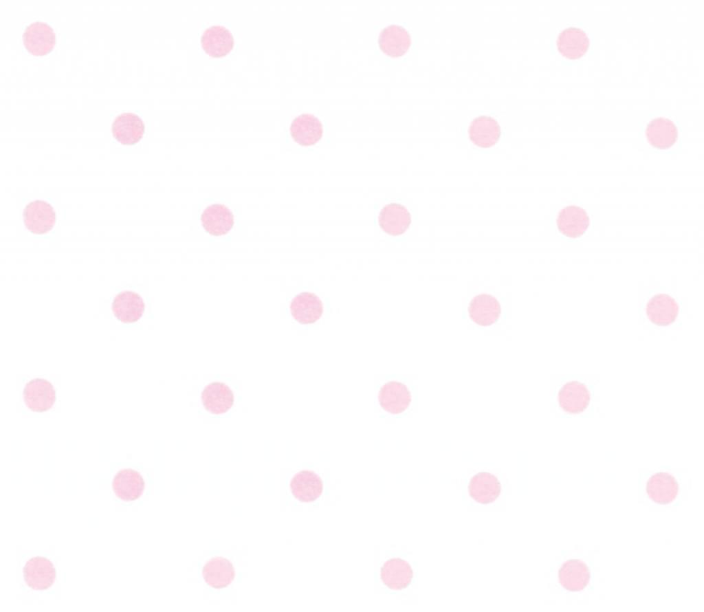 annette frank tapete dots weiss rosa. Black Bedroom Furniture Sets. Home Design Ideas