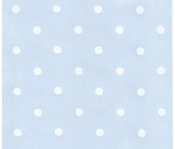 Annette Frank Tapete Dots hellblau-weiss
